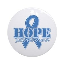 Hope - Scleroderma Ornament (Round)