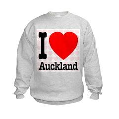 I Love Auckland Sweatshirt