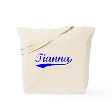 Vintage Tianna (Blue) Tote Bag