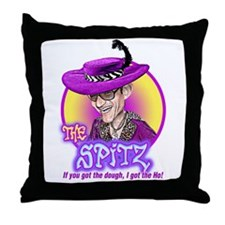 Spitzer Pimp! Throw Pillow