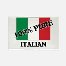 100 Percent ITALIAN Rectangle Magnet