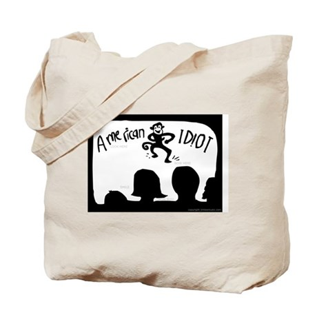 AMERICAN IDIOT (not IDOL!) Tote Bag