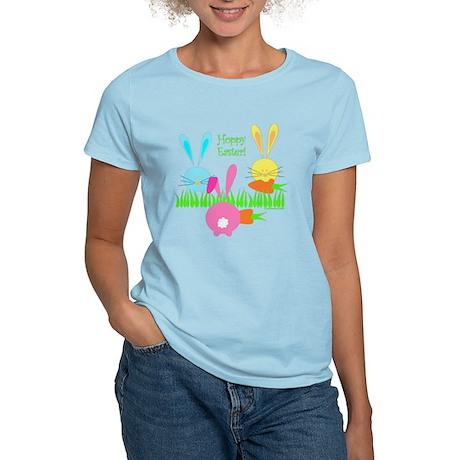 Easter Rabbits Women's Light T-Shirt