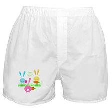 Easter Rabbits Boxer Shorts