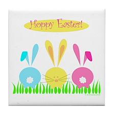 Hoppy Easter! Tile Coaster