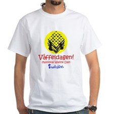 Swedish National Waffle Day Shirt