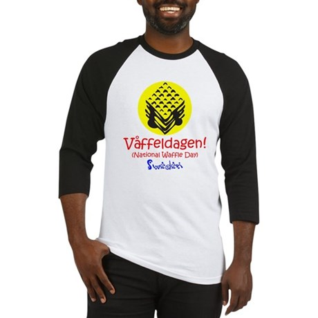 Swedish National Waffle Day Baseball Jersey