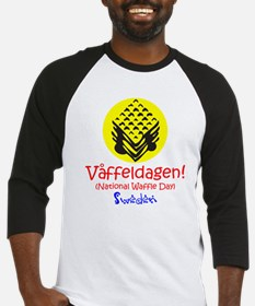 Swedish National Waffle Day Baseball Jersey