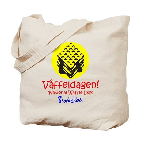 Swedish National Waffle Day Tote Bag