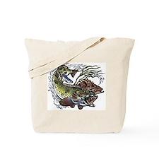 Lingcod, Rockfish & Salmon Tote Bag