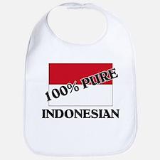 100 Percent INDONESIAN Bib