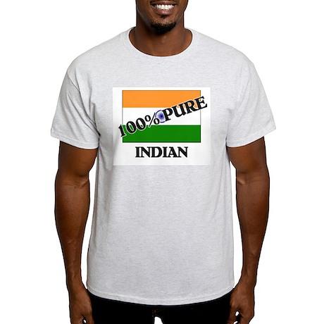 100 Percent INDIAN Light T-Shirt