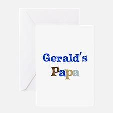 Gerald's Papa Greeting Card