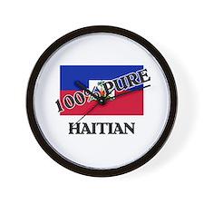 100 Percent HAITIAN Wall Clock