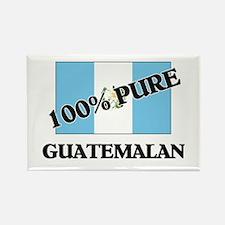 100 Percent GUATEMALAN Rectangle Magnet