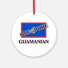 100 Percent GUAMANIAN Ornament (Round)