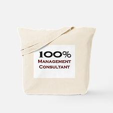 100 Percent Management Consultant Tote Bag