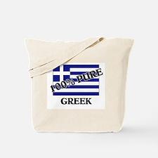 100 Percent GREEK Tote Bag