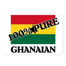 100 Percent GHANAIAN Postcards (Package of 8)