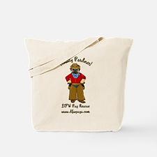 DFWPRC Cowboy Pug - Single Sided Tote Bag