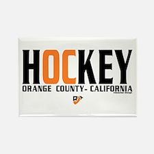 OC Orange County Hockey Rectangle Magnet
