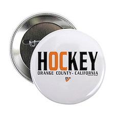 "OC Orange County Hockey 2.25"" Button"
