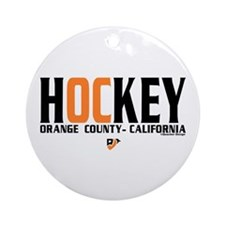 OC Orange County Hockey Ornament (Round)