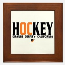 OC Orange County Hockey Framed Tile