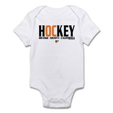OC Orange County Hockey Infant Bodysuit
