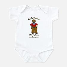DFWPRC Cowboy Pug - Single Sided Infant Bodysuit
