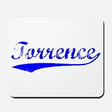 Vintage Torrence (Blue) Mousepad