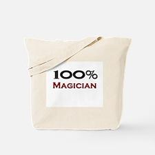100 Percent Magician Tote Bag