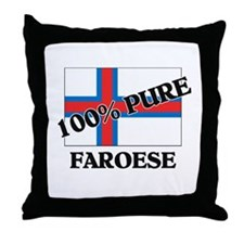 100 Percent FAROESE Throw Pillow