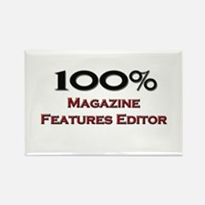 100 Percent Magazine Features Editor Rectangle Mag