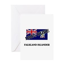 100 Percent FALKLAND ISLANDER Greeting Card