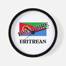 Cute Eritrean flag Wall Clock