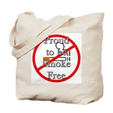 Proud to be Smoke Free Tote Bag