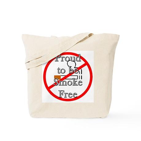 Proud to be Smoke Free Tote Bag