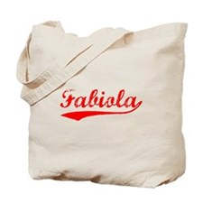Vintage Fabiola (Red) Tote Bag