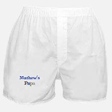 Mathew's Papa Boxer Shorts
