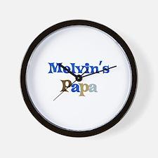 Melvin's Papa Wall Clock