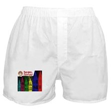 Bergen, Norway (Color) Boxer Shorts