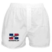 100 Percent DOMINICAN Boxer Shorts