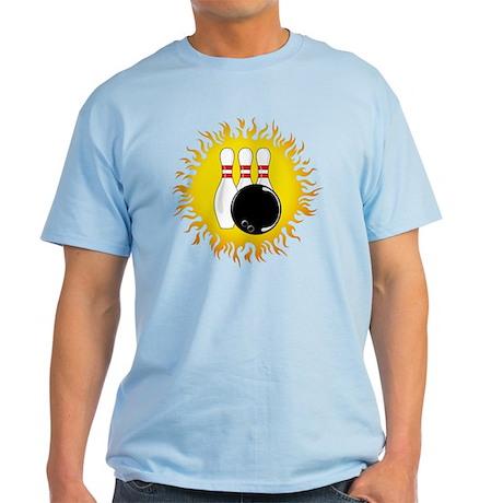 Bowling Flame Light T-Shirt