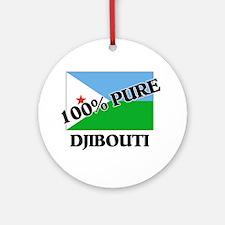 100 Percent DJIBOUTI Ornament (Round)