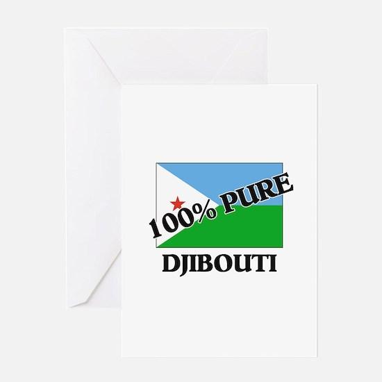 100 Percent DJIBOUTI Greeting Card