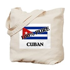 100 Percent CUBAN Tote Bag