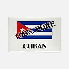 100 Percent CUBAN Rectangle Magnet