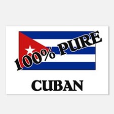 100 Percent CUBAN Postcards (Package of 8)