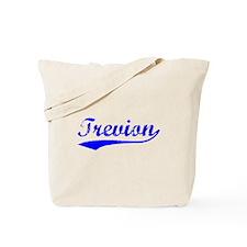 Vintage Trevion (Blue) Tote Bag